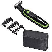 Машинка для стрижки волос Polaris PHC 0303RB, черный-лайм