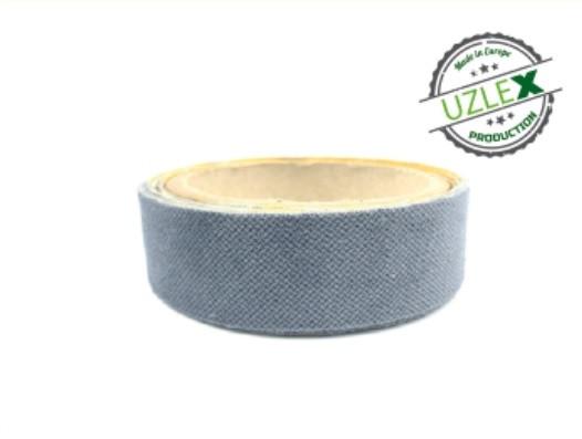 Защитная насадка на ракель в рулоне для декоративных пленок, мягкая, серая, 1500x30 мм