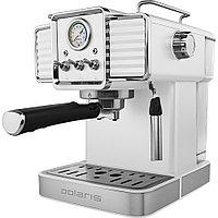 Кофеварка Polaris Adome Crema Экспрессо PCM 1538E, белый