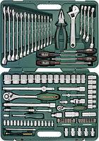 """(S04H624101SA18) Набор инструмента универсальный 1/2"""" и 1/4"""" DR, 101 предмет (юбилейная серия) , фото 1"""
