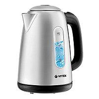 Чайник Vitek VT-7053, серебристый