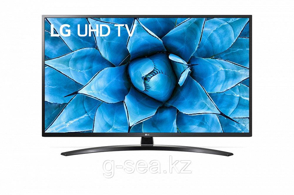 Телевизор LG 50UN74006LA, черный - фото 1