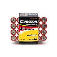 Батарейка, CAMELION, LR6-PB24, Plus Alkaline, AA, 1.5V, 2700 mAh / 24 шт в упаковке
