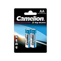 Батарейка, CAMELION, LR6-BP2DG, Digi Alkaline, AA, 1.5V, 2800mAh, 2 шт. в блистере / 12 блис. в упаковке