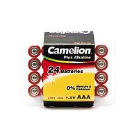 Батарейка, CAMELION, LR03-PB24, Plus Alkaline, AAA, 1.5V, 1150 mAh / 24 шт в упаковке