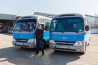 Пассажирские перевозки строителей на объекты