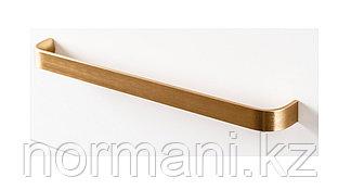 Ручка скоба 256мм, отделка под золото шлифованное
