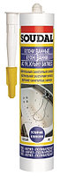 Нейтральный санитарный силикон Soudal бесцветный 15*300 мл