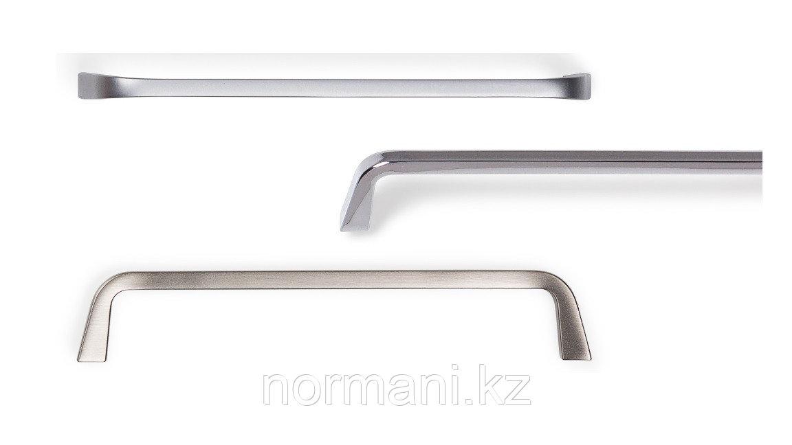 Ручка скоба 160мм, отделка под никель матовый
