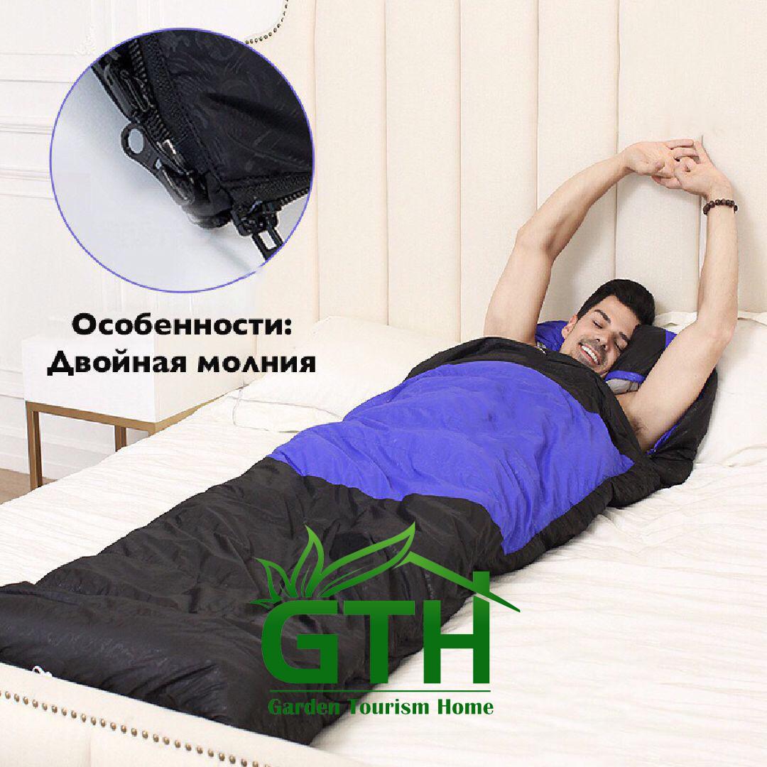 Зимние спальные мешки Tuohai STH001. От -15 до -35 . Доставка. - фото 5