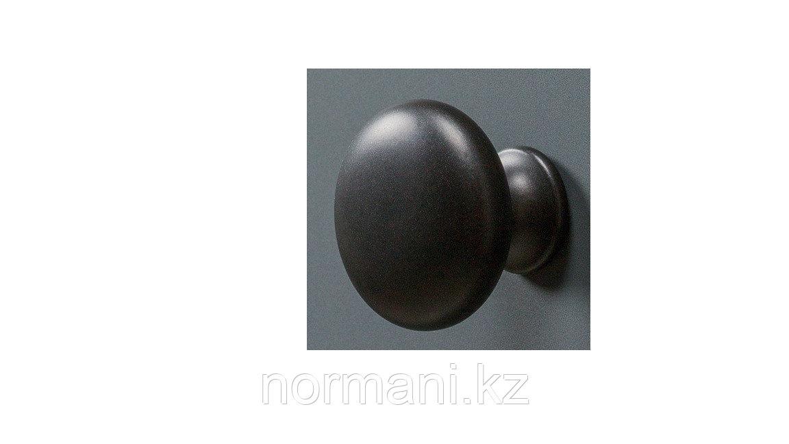 Ручка кнопка, отделка под черный матовый