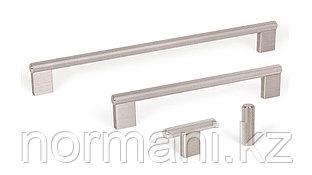 Мебельная ручка скоба, замак, размер посадки 160мм, отделка под сталь шлифованный