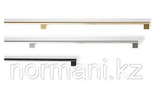 Ручка скоба 1168мм, отделка под сталь шлифованную