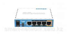 Wi-Fi роутер Mikrotik hAP (RB951Ui-2nD)