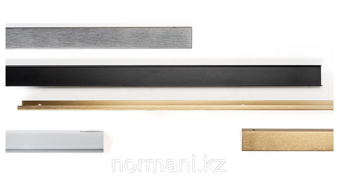 Ручка профиль L.200мм, отделка под сталь шлифованный