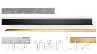 Ручка профиль L.200мм, отделка под черный шлифованный