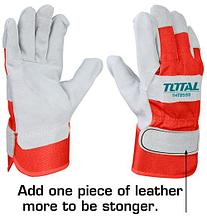 Сварочные перчатки (краги)TOTAL арт.TSP14101