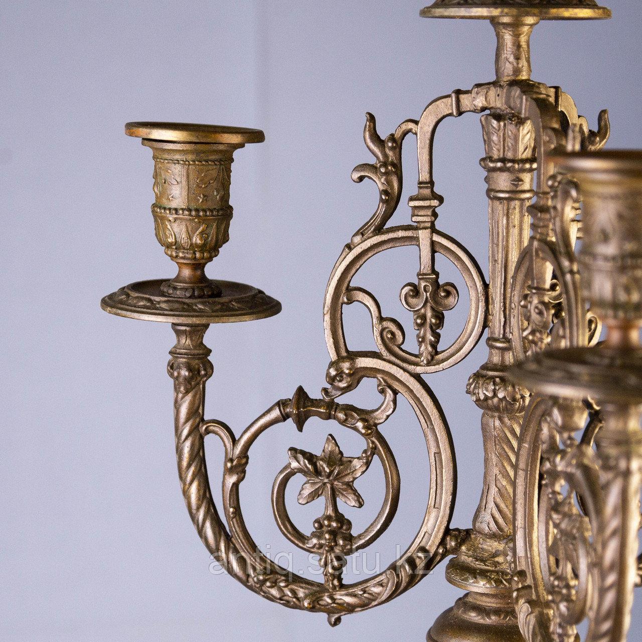 Монументальные канделябры в в стиле Императора Наполеона III Франция. II половина XIX века - фото 4