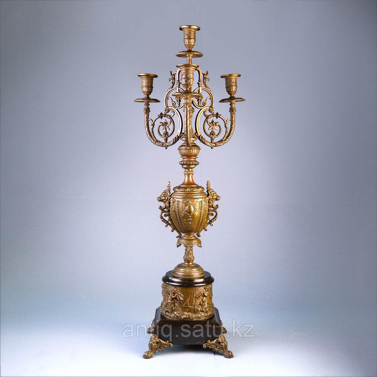 Монументальные канделябры в в стиле Императора Наполеона III Франция. II половина XIX века - фото 2