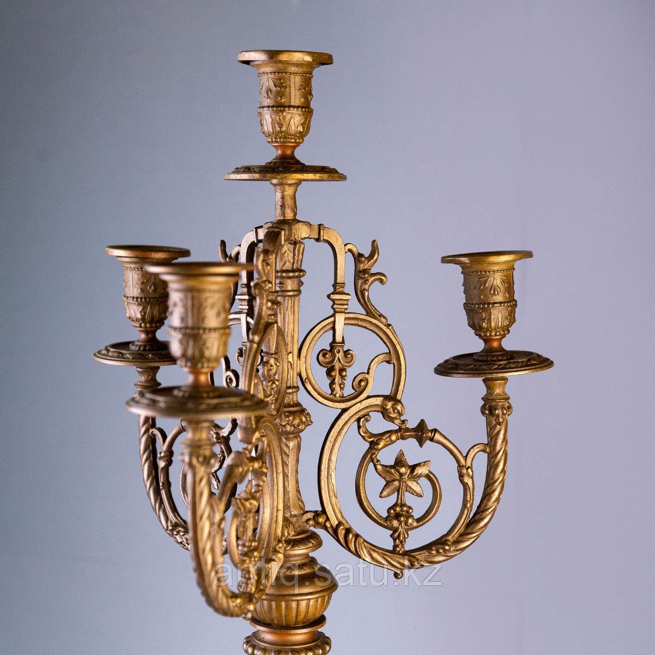 Монументальные канделябры в в стиле Императора Наполеона III Франция. II половина XIX века - фото 5