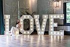 Объемные буквы из ПВХ LOVE, фото 2