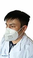 Респиратор N99 MED FFP3 c клапаном (регистрационное удостоверение РК- ИМН-5No022143, сертификат СТ-KZ)