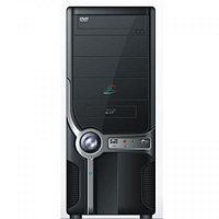 ATX Midi Tower SCS-QH-618 (Silver-Bllack) USB,Audio front panel Без Б.П. СОБРАННЫЙ + Air Pack