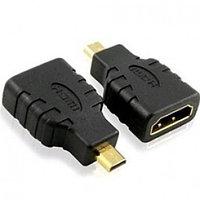 Micro HDMI (m) - HDMI (f) Convertor Gold-Plated (для сотовых телефонов)