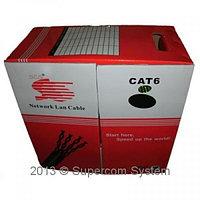 Cable FTP-6 cat SCS Profesional 23AWG CU (медь), Outdoor Бухта 305m Original R