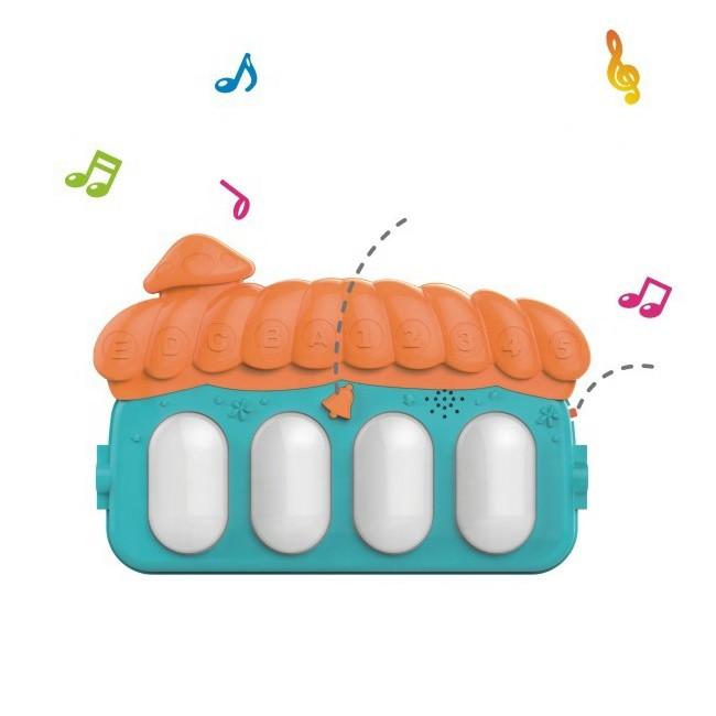 Развивающий коврик пианино для малышей Piano Fitness Rack со звуковыми эффектами 75*60*42 - фото 5