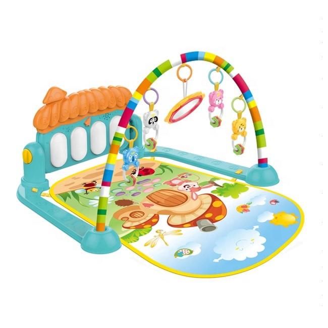 Развивающий коврик пианино для малышей Piano Fitness Rack со звуковыми эффектами 75*60*42 - фото 2