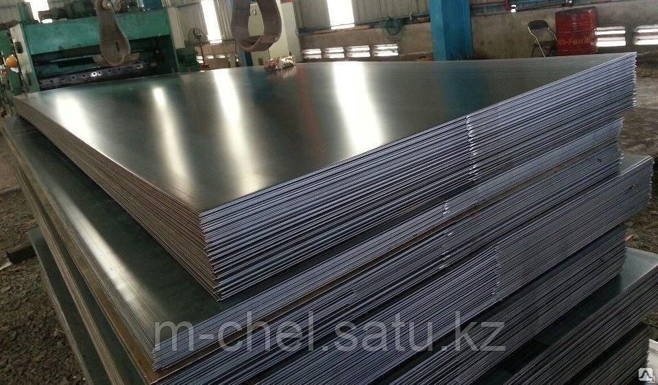 Лист алюминиевый АМг5 2.5 мм ТУ 1-801-20-2008