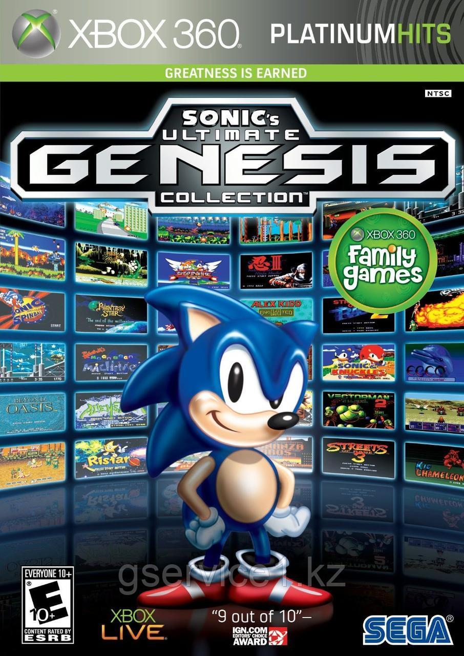 Sega Mega Drive Ultimate Collection Sonic (40 игр на одном диске)