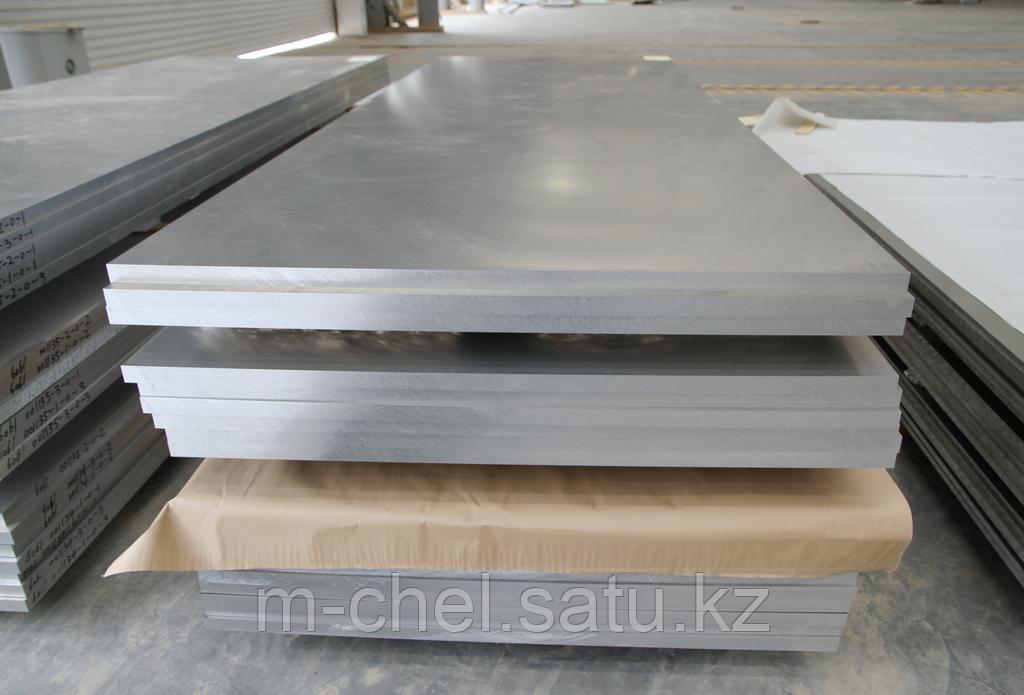 Плиты алюминиевые Д19ЧАТВ 100 мм ГОСТ 295-98