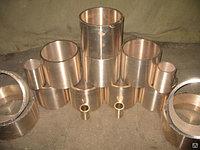 Бронзовые втулки БрАЖ 160 мм ГОСТ 1595-90
