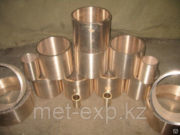 Бронзовые втулки БрА9Ж3Л 120 мм ГОСТ 6613-86