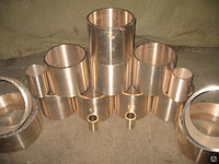 Бронзовые втулки БрО5Ц5С5 420 мм ГОСТ 493-79