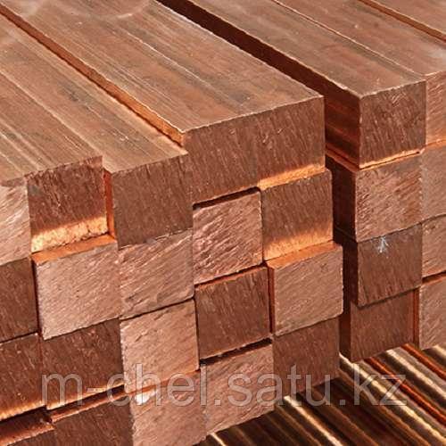 Квадрат бронзовый БрО5Ц5С5 ГОСТ 24301-93