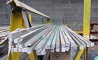 Квадрат алюминиевый Д16АТВ 25х25 ГОСТ 11069-74