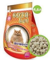 Наполнитель Котя-кет для длиношерстных кошек 4,6л