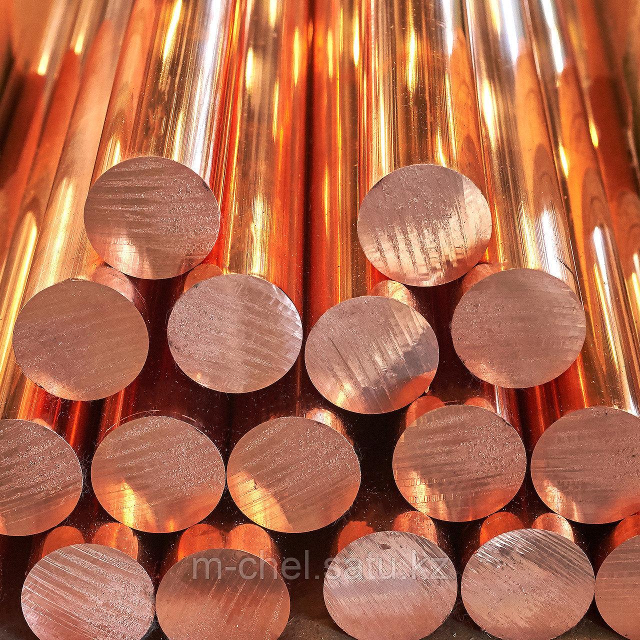 Круг бронзовый БрАЖМц10-3-1.5 2.5 мм ГОСТ 15835-70