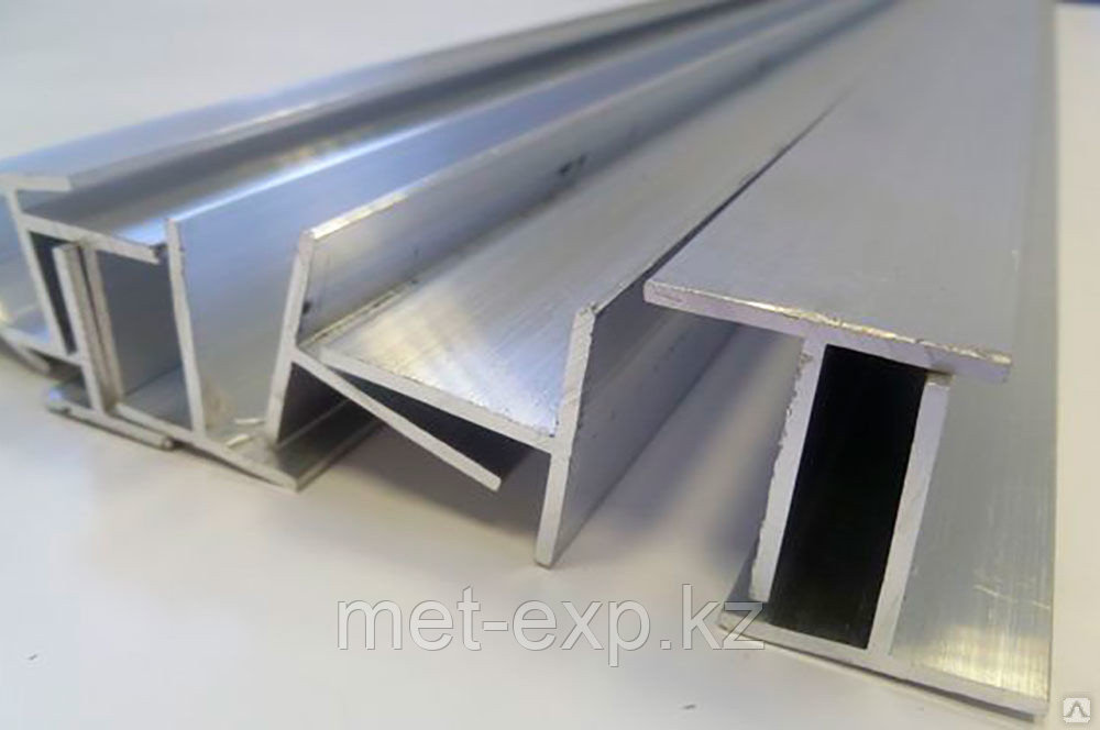 Тавр алюминиевый АМг2 ГОСТ 13622-91