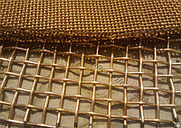 Сетка латунная Л80 4 мм ГОСТ 6613-86 плетеная