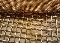 Сетка латунная Л80 2 мм ГОСТ 3187-76 плетеная