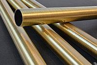Труба латунная ЛАМш77-2-0.05 130 мм ГОСТ 494-90