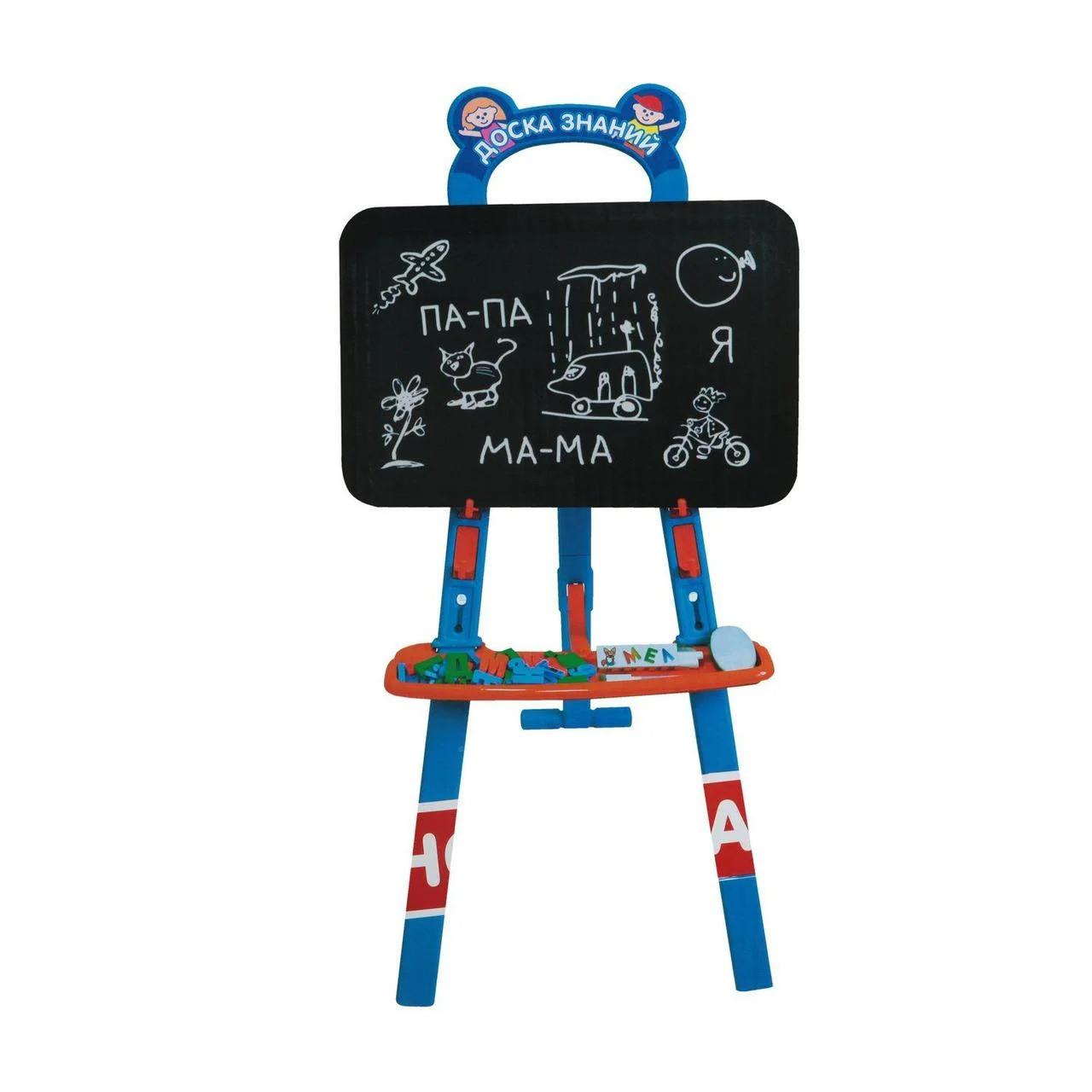 """Детский мольберт """" доска знаний"""" joy toy - фото 3"""