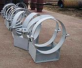 Опоры трубопроводов ОСТ 34-10-743-93 неподвижные Ду720 ОБН металлическая