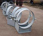 Опоры трубопроводов ОСТ 34-10-745-93 неподвижные Ду20 ТС металлическая
