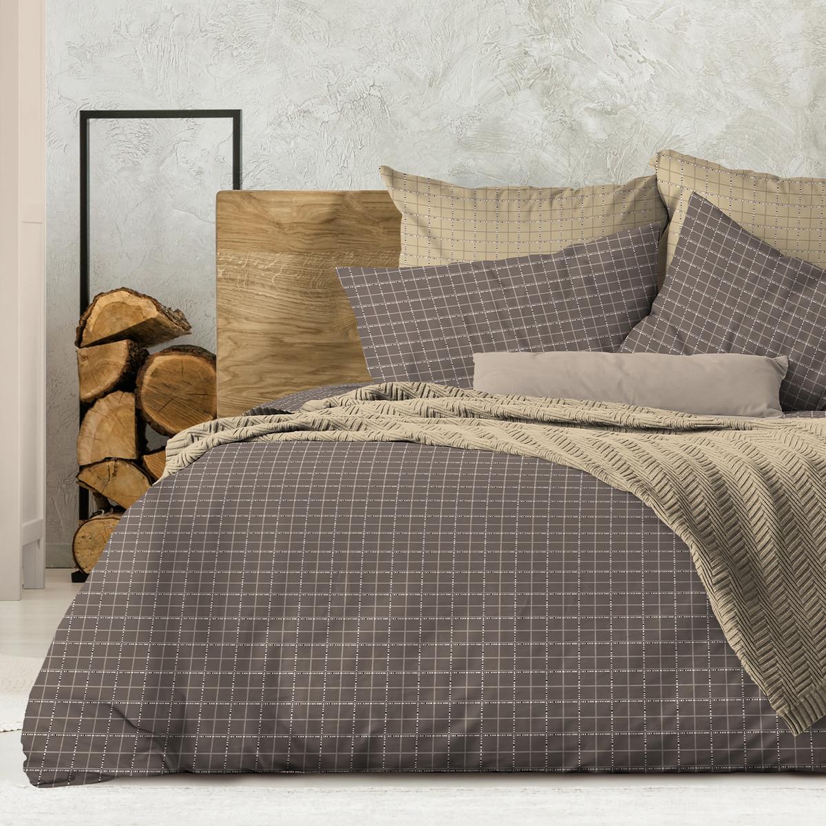 Wenge Комплект постельного белья  Bergen,  WENGE, 2 спальный евро