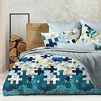 Wenge Комплект постельного белья  Pazzle,  WENGE, 2 спальный евро